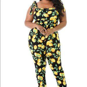 Pants - Lemon Jumpsuit